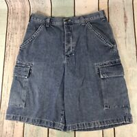 VINTAGE Guess Jeans Cargo Shorts Men's Size 34 Stone Wash Straight
