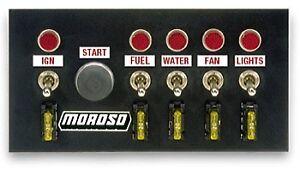 Moroso Multi Purpose Switch Panel Kit 74131;