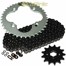 Black O-Ring Drive Chain & Sprockets Kit Fits HONDA ATC250R 1986 / TRX250R 86 87