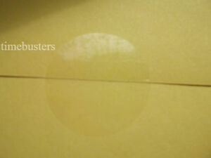 250 Gloss Clear Round 25mm Permanent Adhesive Sticky Labels/Stickers/Seals