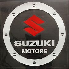 Amazing Car Fuel Gas Tank Cap Stickers Adhesive Graphic For Suzuki (White)