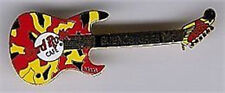 Hard Rock Cafe BUENOS AIRES Patchwork Charvel Spectrum GUITAR PIN #1393