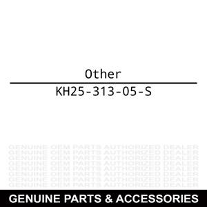 Kohler KH25-313-05-S Grommet: Rubber