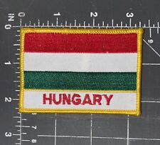 Hungary National Country Flag Patch Ensign Budapest Hungarian State Europe East