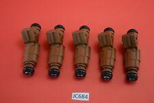 JC684 Volvo BROWN Fuel Injectors  0280155831 , 9186340 Set of Five 5