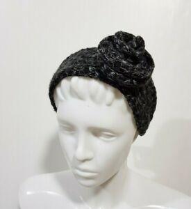 Neuf Icing Femmes Filles Bandeau Cheveux Accessoire Chaud Hiver Fleur