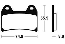 Plaquettes de frein Bendix MA206 Organique pour KTM
