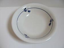 La Primula Made in Italy - Blue & White Floral/Tulip Pasta/Soup Bowl