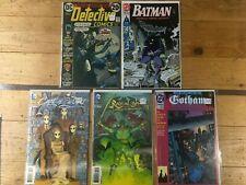 Batman Comic Book Mixed Lot: Detective Comics, New 52, Gotham Nights, Wolfman