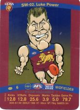 2010 Teamcoach Starwild SW-02 Luke Power Brisbane Lions