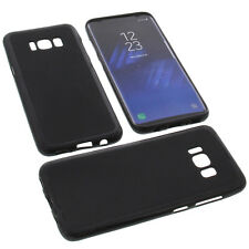Funda para Samsung Galaxy S8 Funda protectora de móvil TPU GOMA FUNDA NEGRA