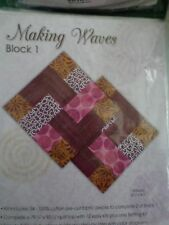 Making Waves Quilt Jo Ann Block Kits 10 Blocks of the Month Lovely quilt