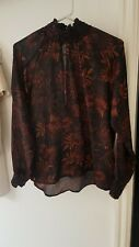 Womens H&M High Neck Top Size 6
