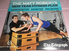 DVD - EXERCISE THE MATT ROBERTS NEW YEAR FITNESS PLAN - NEWSPAPER PROMOTION