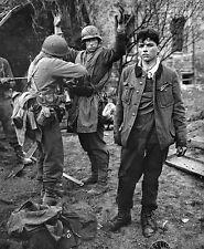 B&W WW2 Photo WWII German POW's Western Front US Army World War Two