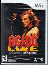 AC/DC Live: Rock Band Track Pack  (Wii, 2008) Brand New Sealed