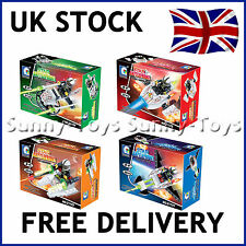 SPACESHIPS GALAXY SPACE SQUAD SETS 4 BOXES BUILDING BRICKS BLOCKS COMPATIBLE