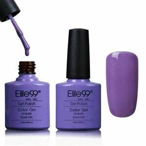 Elite99 Color Gel Nail Polish Top Base Coat Lacquer Manicure UV LED DIY Varnish