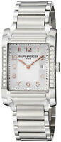 MODEL: 10023 | NEW BAUME & MERCIER HAMPTON RECTANGULAR DIAMOND WOMEN'S WATCH