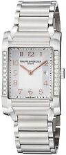 MOA10023 | Brand New Baume et Mercier Hampton Rectangular Diamond Women's Watch