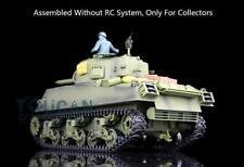Us Stock Static Tank 3898 Plastic Version Henglong Usa M4A3 Sherman 1/16 Model