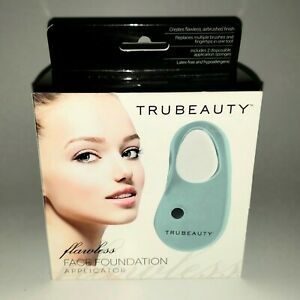Genuine TRUBEAUTY Flawless Face Women's Makeup Foundation Applicator BRAND NEW