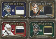2013-14 IN THE GAME  BETWEEN THE PIPES CRISTOBAL HUET BIG LEAGUE DEBUT JERSEY