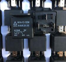 NEW 961A-1C-12DM 12VDC New Automotive Car Relay SPDT Coil  30A 5 Pins x 1PC
