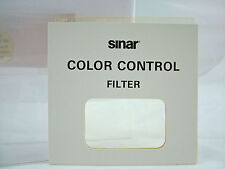 SINAR VIEW CAMERA 4X4 CC05Y COLOR CONTROL FILTER (NEW)
