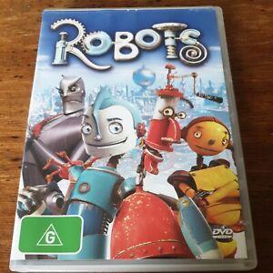Robots Robin Williams DVD R4 Like New! FREE POST