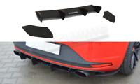 Seat Leon MK 3 Cupra Heckdiffusor Heckansatz Diffusor Stoßstange Heckschürze 5F
