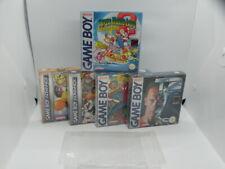 Nintendo Game Boy Avance Protectores-Colección mantener Box! 0.3mm Pet-Nuevo