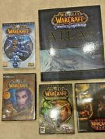 World Of Warcraft Bundle - Wrath Of The Lich King - Burning Crusade + More
