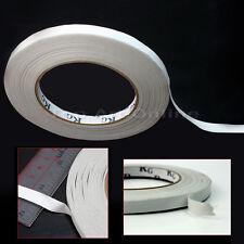 Ruban Bande Adhesive Coller Collant de Double Face Blanc Forte Adhésion 9mm*50m
