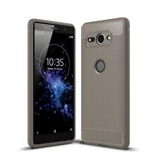 Sony Xperia XZ2 compact Housse Etui Téléphone portable CARBONE étui coque