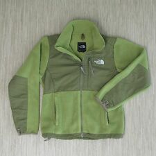 The North Face Zip Up Denali Style Jacket Women's Size Small Green Fleece Coat