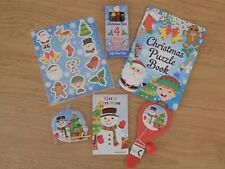 Kids Christmas 6 Activity Pack small Boys Girls Xmas Stocking Fillers Gifts Toy