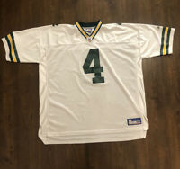 Reebok Brett Favre #4 Green Bay Packers Football Jersey NFL Men's Size 4XL