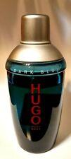 HUGO Dark Blue by HUGO BOSS Eau de Toilette Spray for Men 4.2 oz 125ml