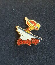 New listing Vintage French Candy'Up (Milk Drinks) Down Hill Ski  Pin Badge