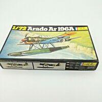 Heller Fighter Plane Arado AR 196A 1/72 Scale Model Kit #241 UNBUILT
