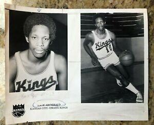 NATE ARCHIBALD 1972 SPORTING NEWS PRESS PHOTO - KANSAS CITY - OMAHA KINGS