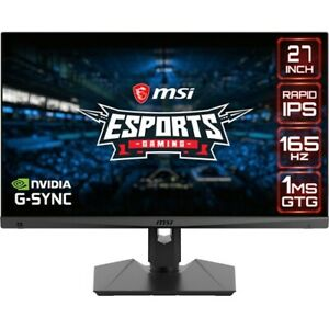 "MSI Optix MAG274QRF 27"" WQHD LED Gaming LCD Monitor - 16:9 - Black"
