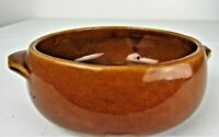 Vintage MCCOY Pottery Brown 7 Inchs Wide x 2 Inches Tall USA Made Bowl  Planter