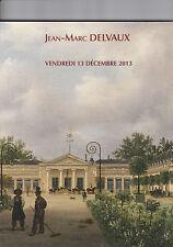 CATALOGUE DE VENTE JEAN MARC DELVAUX / TABLEAUX PHOTOS BRONZES SOLDATS DE PLOMB