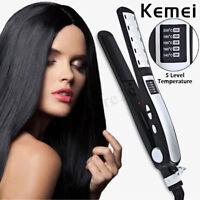 Professional Ceramic Styler Hair Straightener Curler Flat Iron Hair Styling