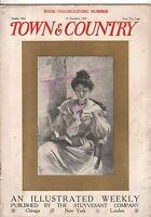 1908 Town & Country November 21 - Famous artists - J C Leyendecker; Mrs. Fiske