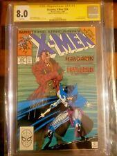 Uncanny X-Men 256 Signed CGC KEY First Psylocke Signature Series Chris Claremont