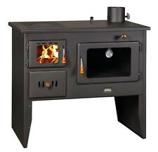 Wood Burning Stove Cast Iron Top Cooker Solid Fuel Oven With Boiler 16 kW
