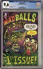 MadBalls (2016) #1 CGC 9.6 Brad McGinty Regular Cover!